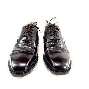 Rockport Brown Cap Toe Men's Dress Shoes SZ 9